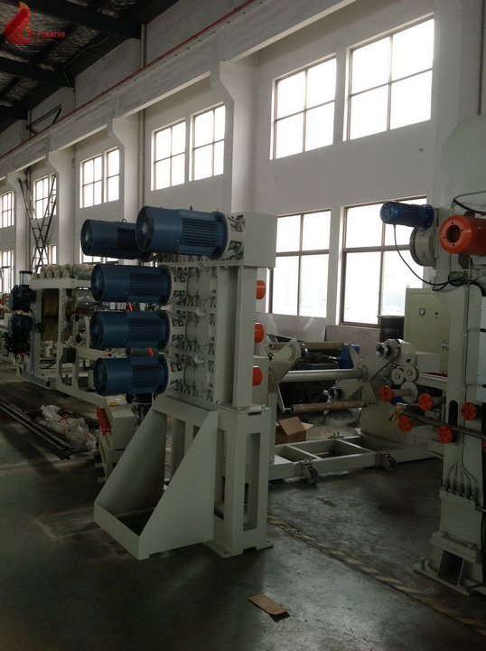 ABB motor CPU contorl Oil heating SY-6Γ¢360x1200mm Six-Roll Calender Production Line