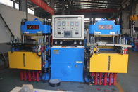 Vulcanizing machine for production of silicone cake molds, pressure 250 tons, stroke 300,
