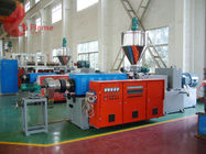 Hot Cutting Plastic Pelletizing Machine / Alloy Steel Twin Screw Plastic Extruder PVC