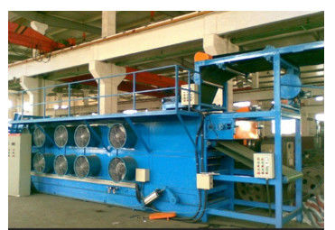 Low Noise Five Roll Rubber Calender Machine , Rubber Sheet Machine With Long Service Life