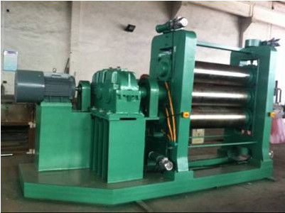 Customizable Dimension PVC Calendering Machine , Plastic PVC Sheet Extrusion Machine