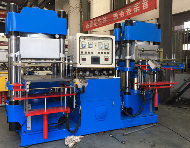 Pump Yongtai 300 Tons Rubber Injection Moulding Machine , Vacuum Vulcanising Equipment