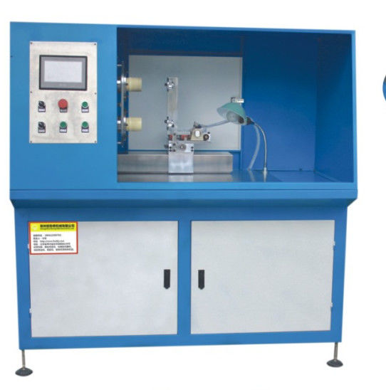 Full Automatic Twin Shaft Rubber Gasket Cutting Machine In Blue Color