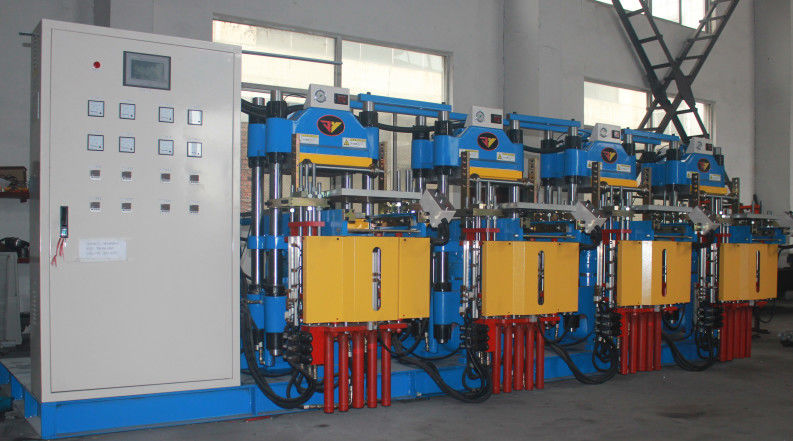 Custom One Support Four Sulfide Rubber Injection Moulding Machine Hot Plate Nitrogen Treatment