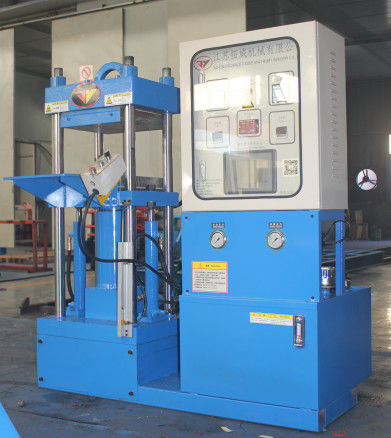 Laboratory Rubber Injection Moulding Machine Special Vulcanizing Machine Up Down In Out Die