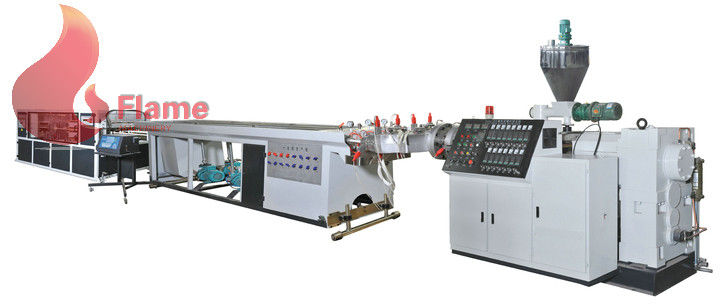 250kg / h Four Cavity plastic pipe extrusion machine for electrician threading pipe