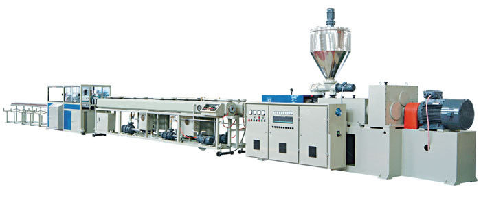 PVC Double Electrical Threading Pipe Extrusion Line 16 - 63mm
