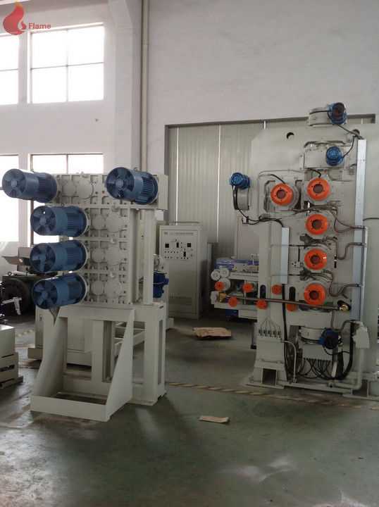 "φ410×1200mm roller ""Γ"" type Five Rollers Rigid PVC Calender Machine With High tenacity"